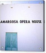 The Opera House Acrylic Print