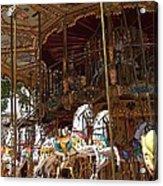 The Original French Carousel Acrylic Print