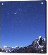 The Orion Constellation Acrylic Print