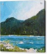 The Other Side Lake Chumash Acrylic Print