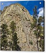 The Other Side Of Devils Tower Acrylic Print