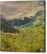The Other Side Of Trollstigen Norway Acrylic Print