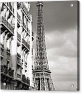 The Other View Of The Eiffel Tower Acrylic Print