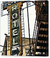 The Otis Hotel Acrylic Print