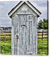 The Outhouse - 2 Acrylic Print