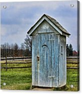 The Outhouse - 4 Acrylic Print