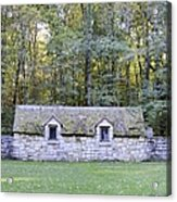 The Outhouse Acrylic Print