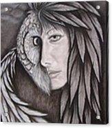 The Owl In Me Acrylic Print
