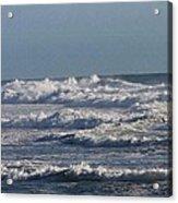 The Pacific Ocean Near Oceanside Ca Acrylic Print