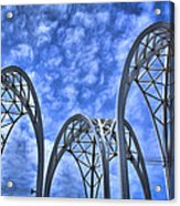 The Pacific Science Center Acrylic Print