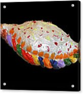 The Painted Calzone Acrylic Print
