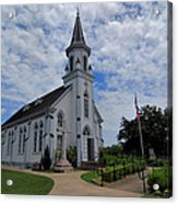 The Painted Churches Acrylic Print