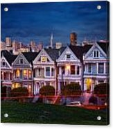 The Painted Ladies Of San Francsico Acrylic Print