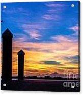 The Painted Sky Acrylic Print