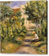 The Painters Garden, Cagnes, C.1908 Acrylic Print