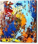 The Painting Has A Life Of Its Own. I Try To Let It Come Through. Jackson Pollock   Acrylic Print