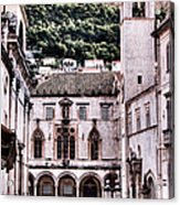 The Palace And The Tower Acrylic Print