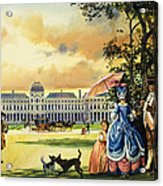 The Palace Of The Tuileries Acrylic Print by Andrew Howat