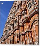 The Palace Of The Winds In Jaipur Acrylic Print