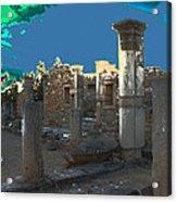 The Palaestra -temple Of Apollo Acrylic Print