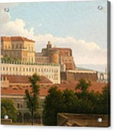 The Palazzo Reale And The Harbor. Naples Acrylic Print