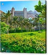 The Palm - Atlantis - Dubai Acrylic Print by George Paris