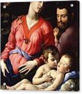 The Panciatichi Holy Family Acrylic Print