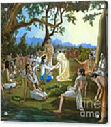 The Panihati Festival Acrylic Print
