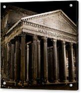 The Pantheon At Night Acrylic Print