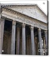 The Pantheon Rome Acrylic Print