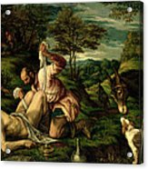 The Parable Of The Good Samaritan Acrylic Print