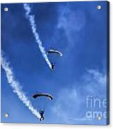 The Parachutists V5 Acrylic Print