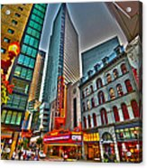 The Paramount Center And Opera House In Boston Acrylic Print