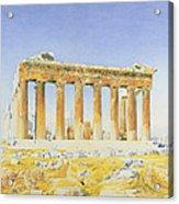 The Parthenon Acrylic Print