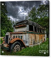 The Party Bus Acrylic Print