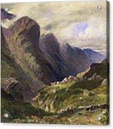 The Pass Of Glencoe, 1852 Acrylic Print