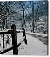 The Path Ahead Acrylic Print