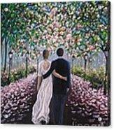 The Path Of Love  Acrylic Print
