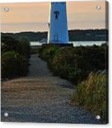 The Path To The Lighthouse Acrylic Print