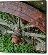 The Patina Of Time Acrylic Print