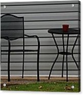 The Patio In Living Color Acrylic Print