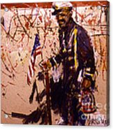 Use 2b So Ez - The Patriot Acrylic Print