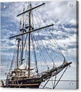 The Peacemaker Tall Ship Acrylic Print by Dale Kincaid