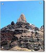 The Peak Above Acrylic Print