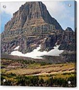 The Peak At Logans Pass Acrylic Print
