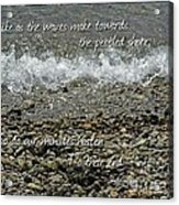 The Pebbled Shore 2 Acrylic Print