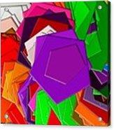 The Pentagons Acrylic Print