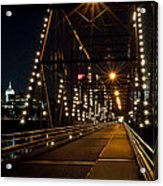 The People's Bridge Acrylic Print