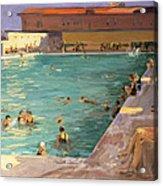 The Peoples Pool, Palm Beach, 1927 Acrylic Print