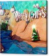 The Perfect Christmas Tree Acrylic Print